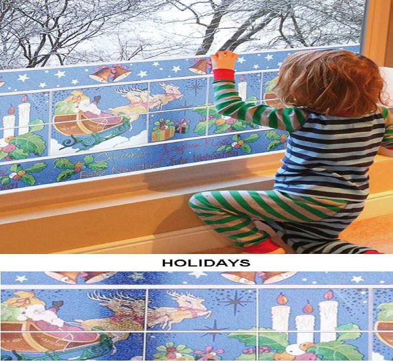 Декоративная статическая пленка Holidays