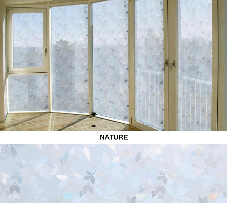 Декоративная статическая пленка Nature