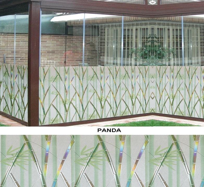 Декоративная статическая пленка Panda