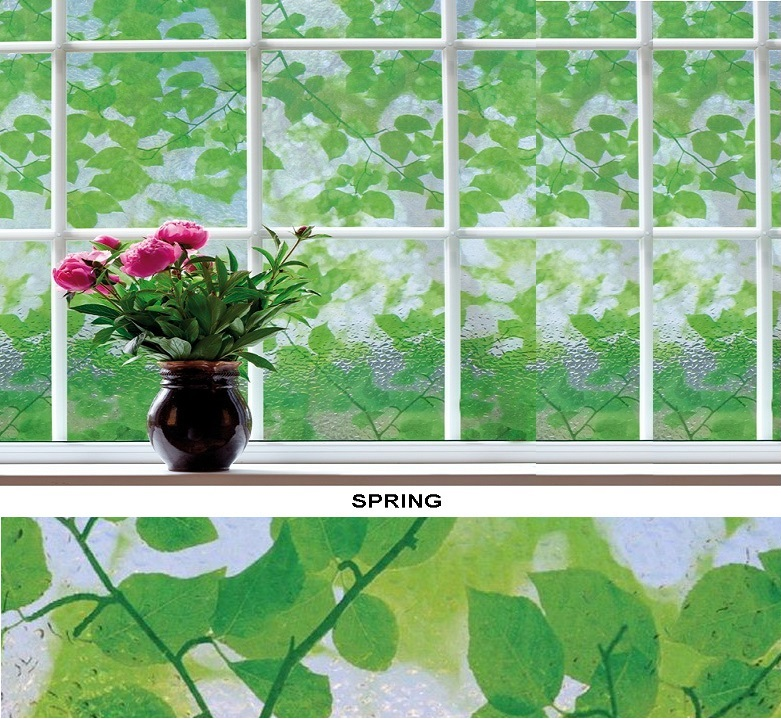 Декоративная статическая пленка Spring