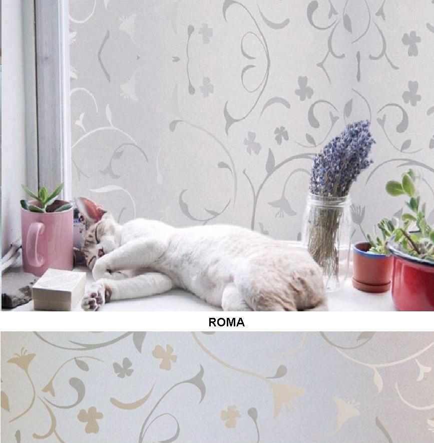 Декоративная статическая пленка Roma