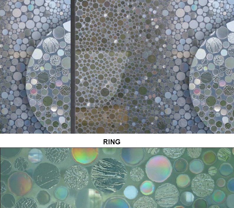 Декоративная статическая пленка Ring