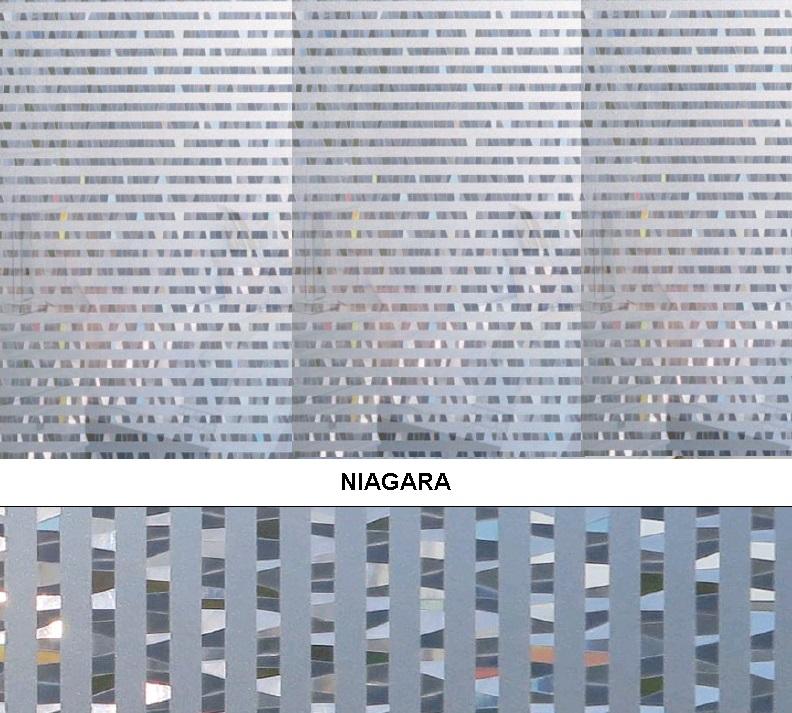 Декоративная статическая пленка Niagara