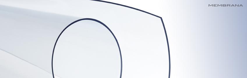 0.63 mm пленка ПВХ с низкой усадкой высокой прозрачности Expafol