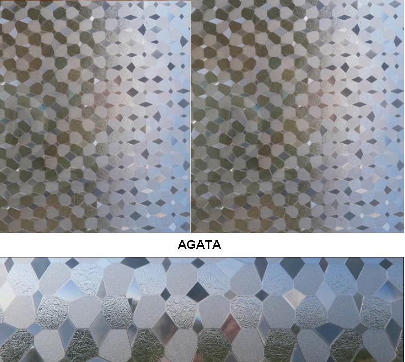 Декоративная статическая пленка Agata