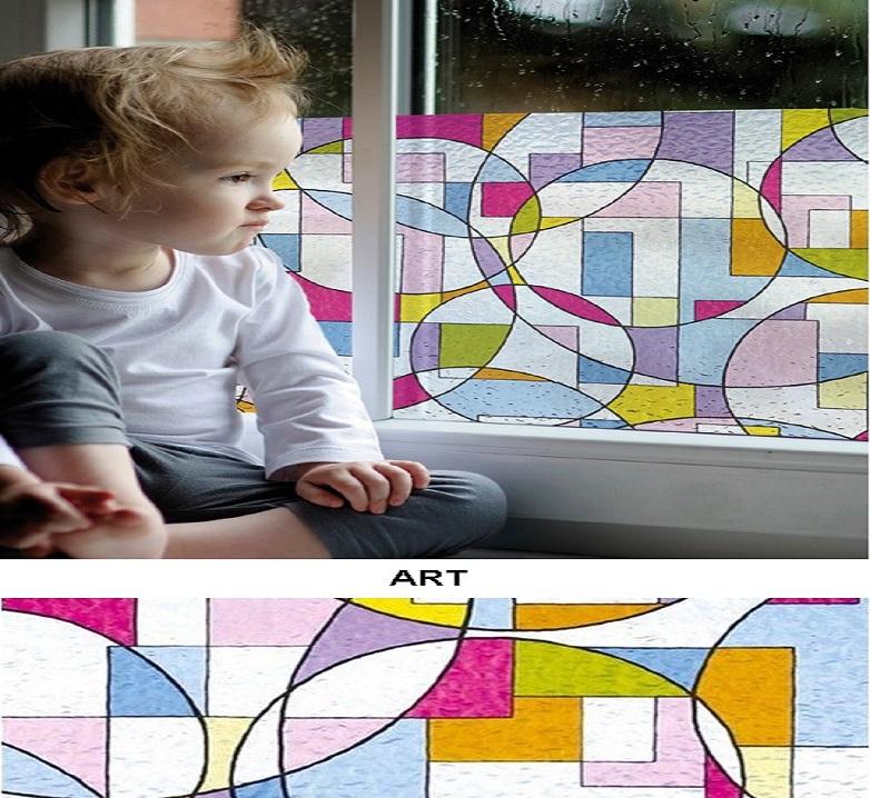 Декоративная статическая пленка Art