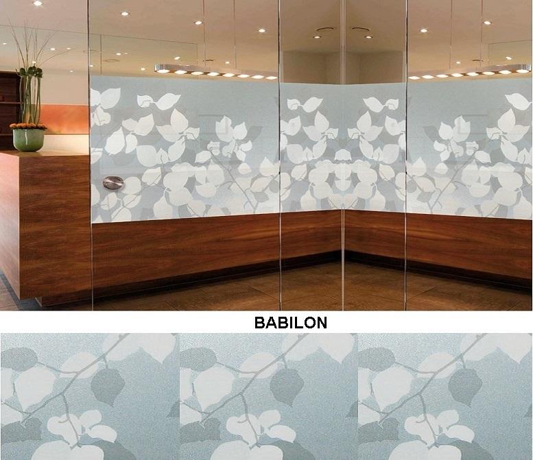 Декоративная статическая пленка Babilon