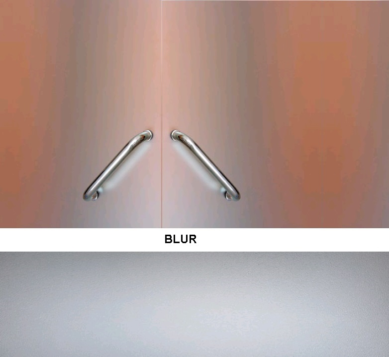 Декоративная статическая пленка Blur