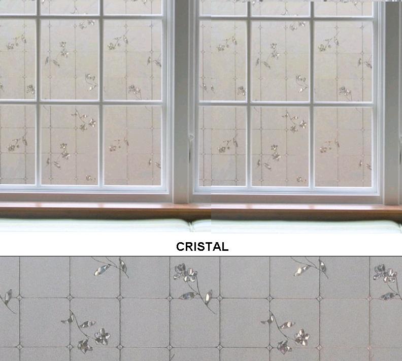 Декоративная статическая пленка Cristal