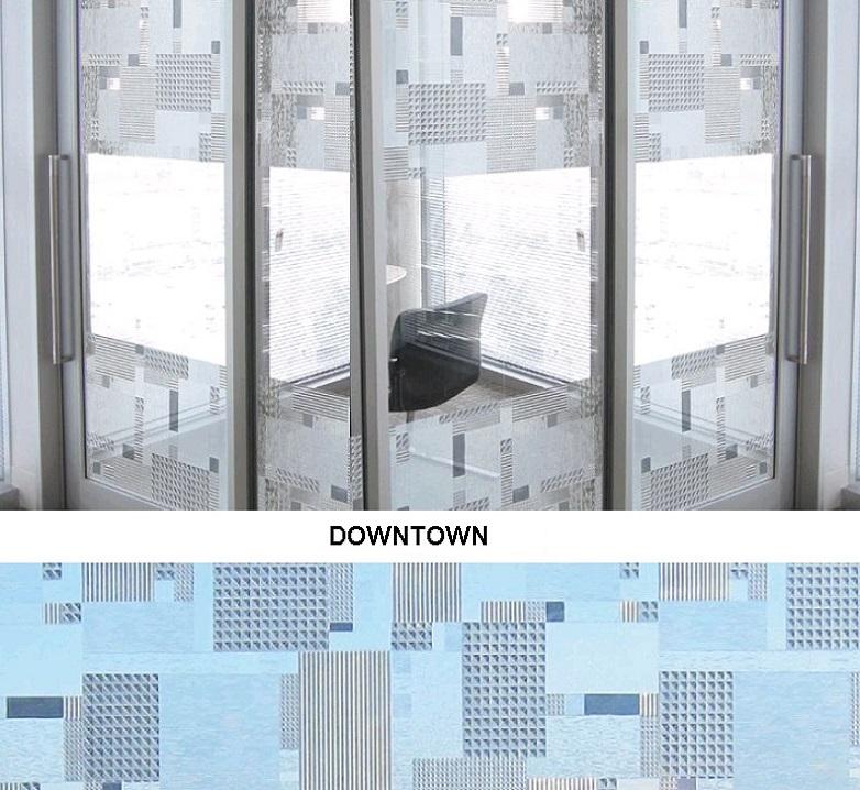 Декоративная статическая пленка Downtown