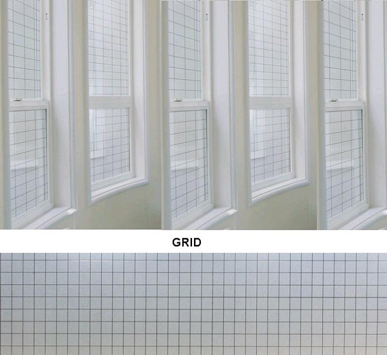 Декоративная статическая пленка Grid