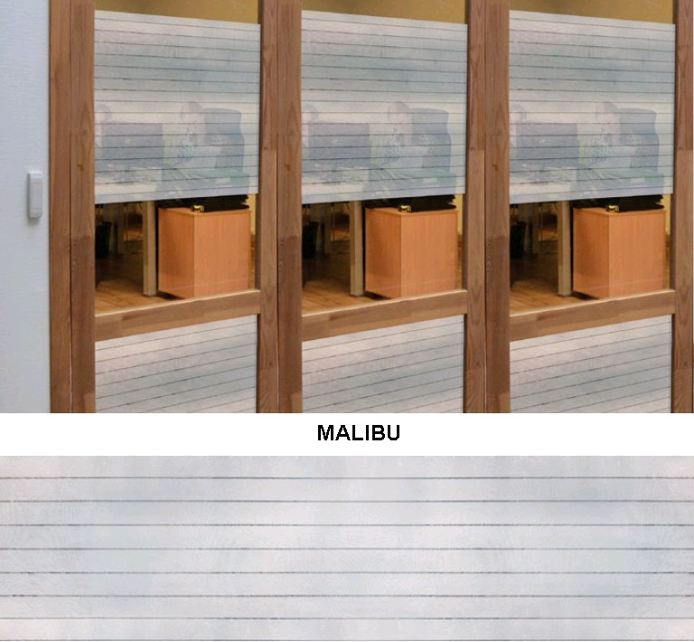 Декоративная статическая пленка Malibu