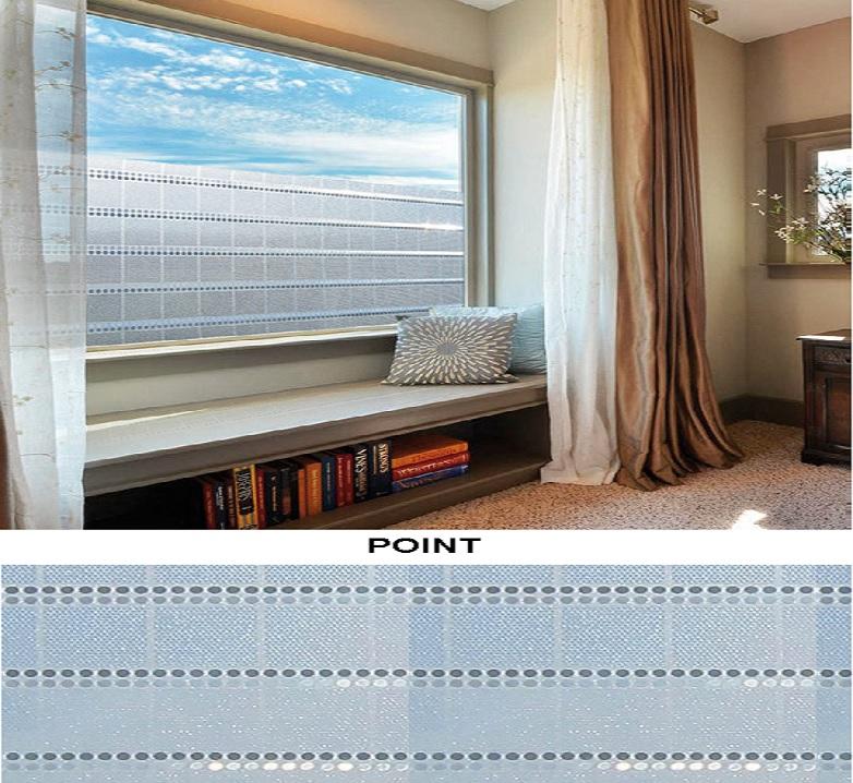 Декоративная статическая пленка Point