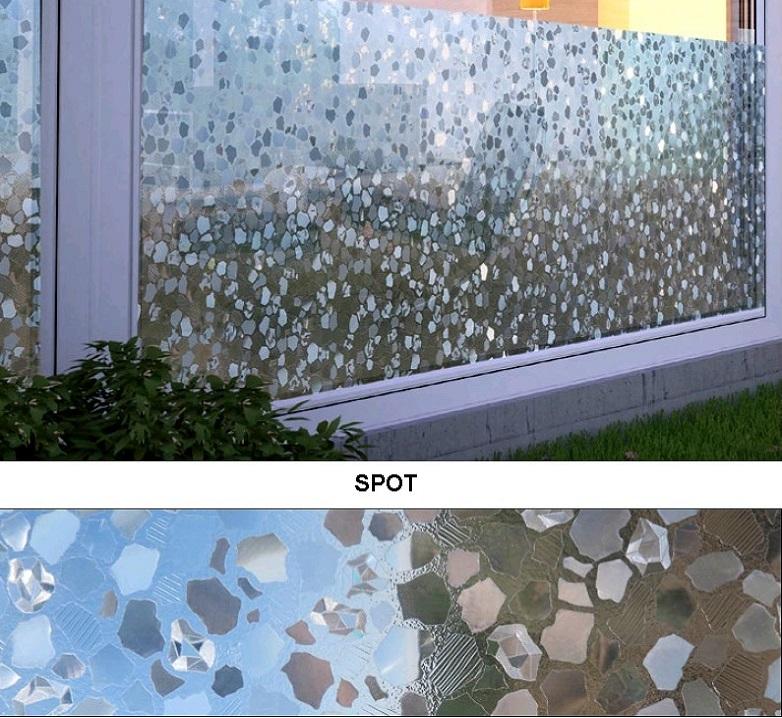 Декоративная статическая пленка Spot