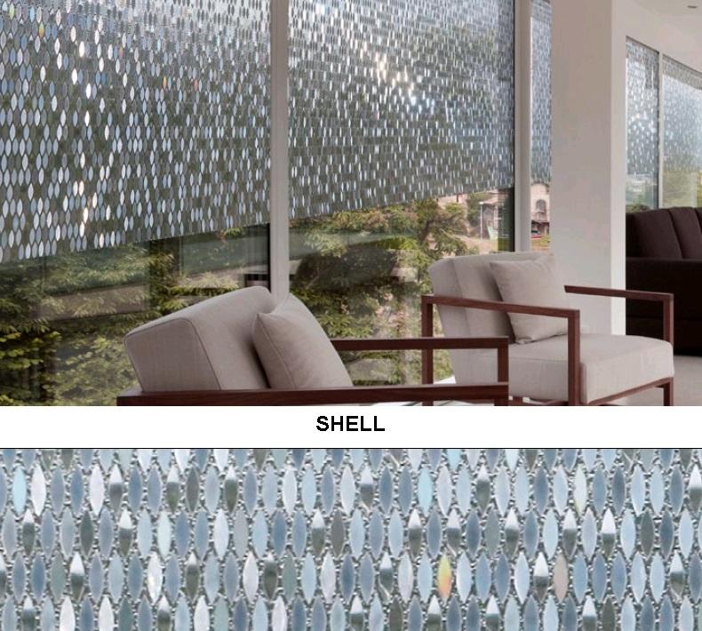 Декоративная статическая пленка Shell