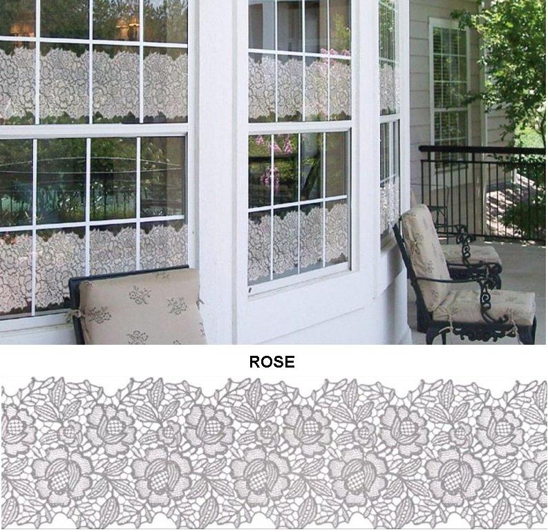Декоративная статическая пленка Rose
