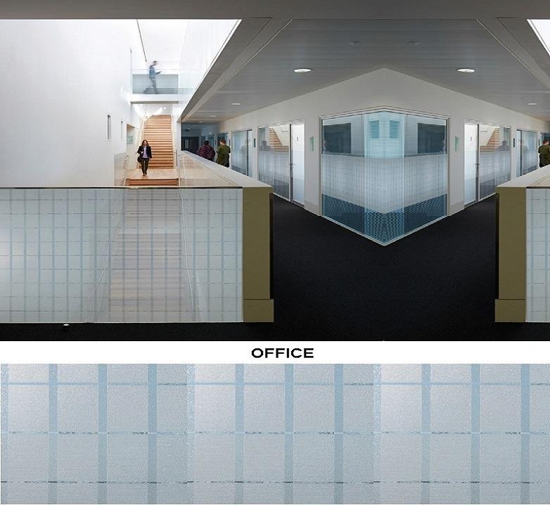 Декоративная статическая пленка Office