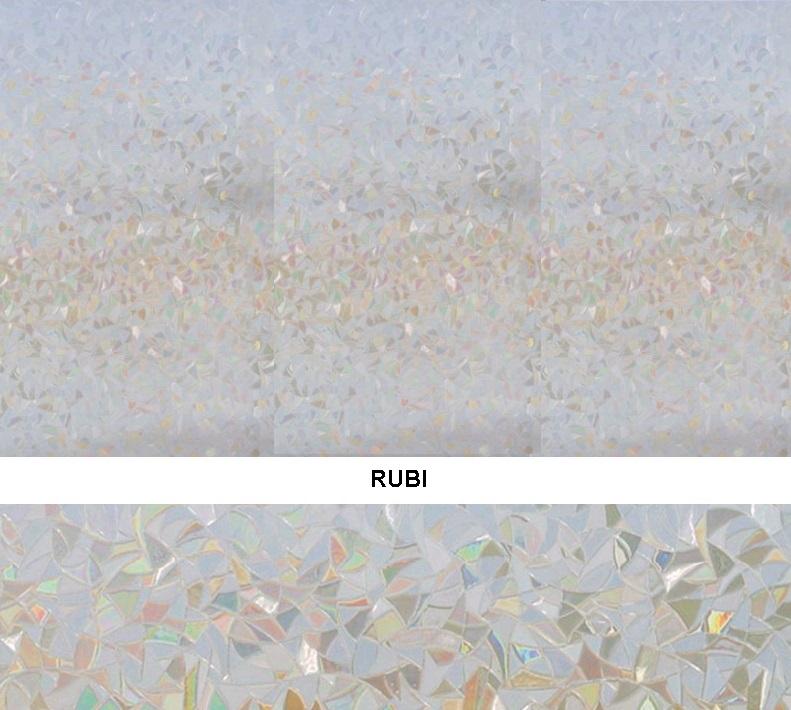 Декоративная статическая пленка Rubi