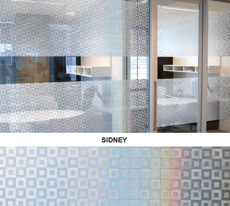 Декоративная статическая пленка Sidney