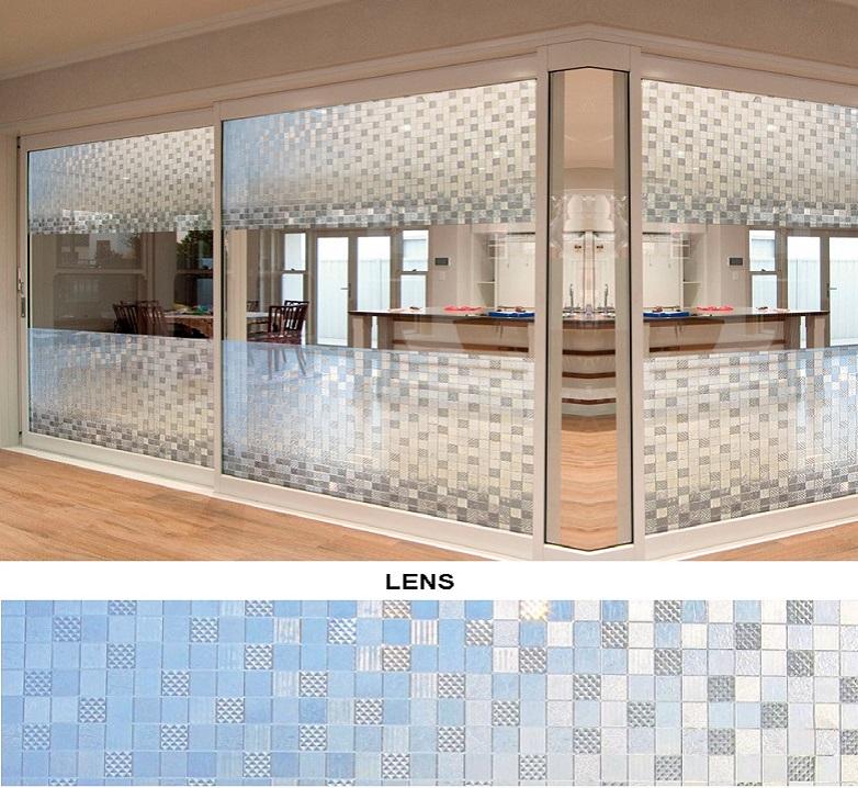 Декоративная статическая пленка Lens