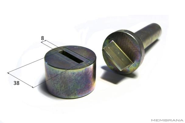 Оправки люверсов прямоугольные Bozamet Польша