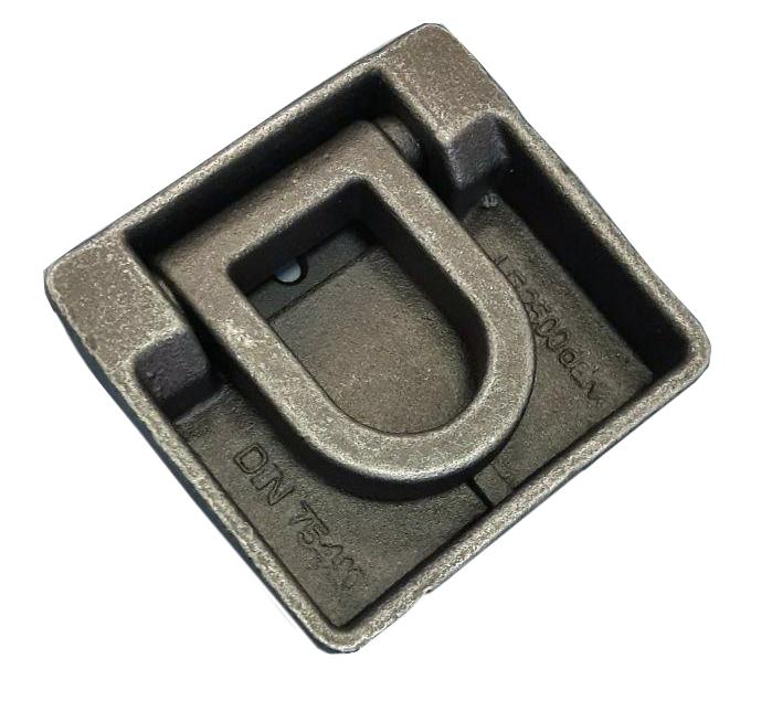 Врезное кольцо крепления груза