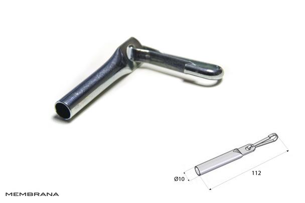 Концевики для троса с крючками Bozamet Польша